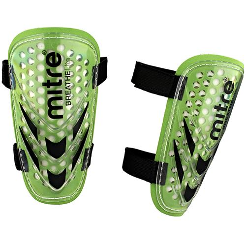 Щитки футбольные Mitre Tension BreatheLite S60003GWB