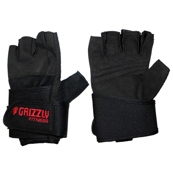 Перчатки для фитнеса Grizzy Power Training Gloves-Wrist Wrap