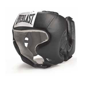 Шлем Everlast с защитой щек USA Boxing Cheek черный 620201U