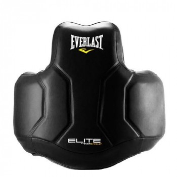 Защита корпуса Everlast Elite PU для ММА Черный