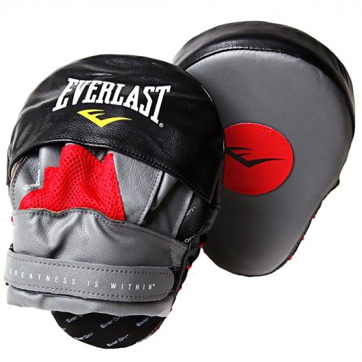 Лапы изогнутые Mantis Punch Mitts 410000 красн/черн.