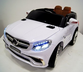 Электромобиль RiverToys Mercedes E009KX (белый)