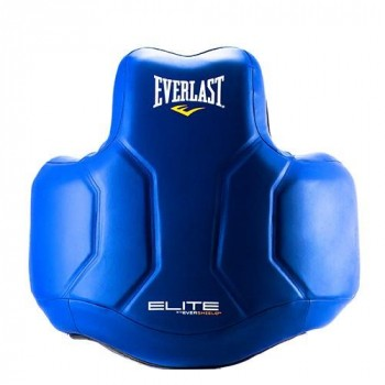 Защита корпуса Everlast Elite PU для ММА Синий