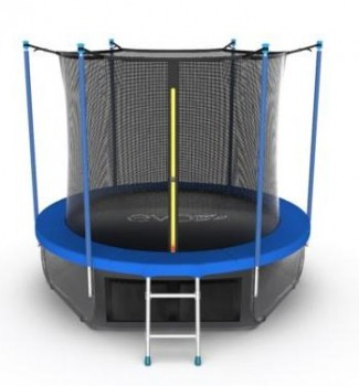 Батут EVO JUMP Internal 10ft (Sky) + нижняя сеть