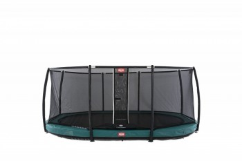 Батут Berg InGround Grand Champion Green + Safety Net Deluxe