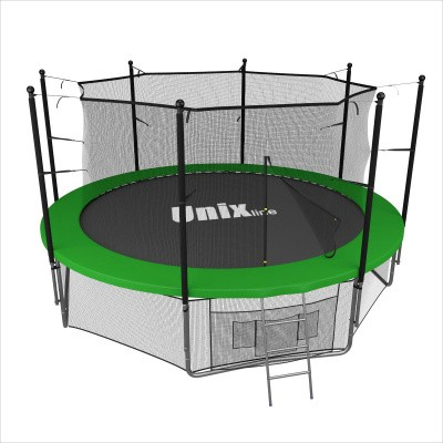 Батут Unix 14 ft inside (green)